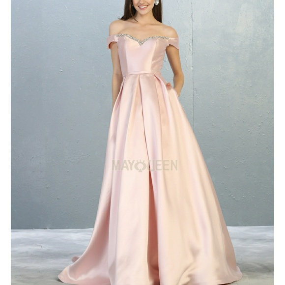 mayqueen Dresses & Skirts - New bridesmaid formal prom gown,evening party dres